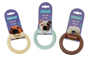 Dog & Co. Nylon Dental Chew Ring - Small